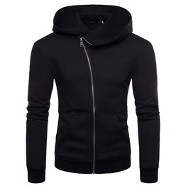 Men's Long Sleeve Zipper Hoodies