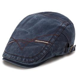 Men's Newsboy Cabbie Driving Hat Retro Peaked Cap