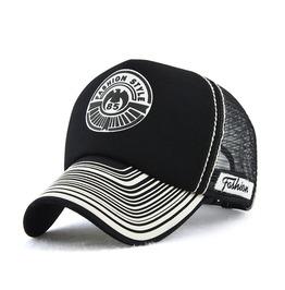 Unisex's Fashion Printed Mesh Snapback Trucker Hat Cap