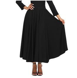 Women's High Waist Lace Up Circle Skirt