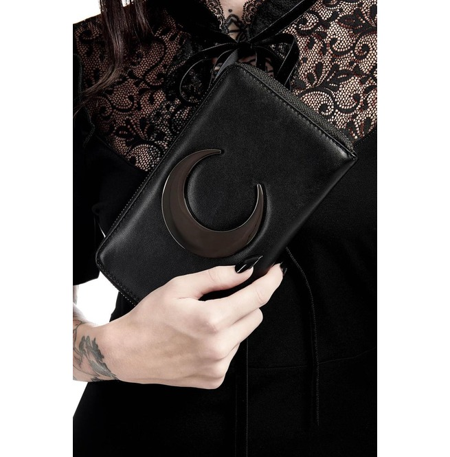 2e2b119b7ab Killstar Eternal Eclipse Crescent Moon Witchy Wallet