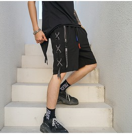 Men Summer Shorts Hip Hop Streetwear