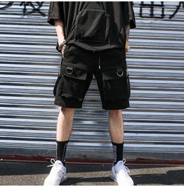 Men Shorts Hip Hop Brand Streetwear
