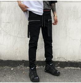 Men Trousers Pants Slim Harem Pants