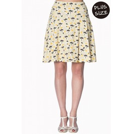 Banned Apparel Palm Shade Skirt Plus Size