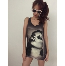 Cool Girl Unisex Indie Rock Vest Tank Top