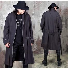 Simple Line Robe Coat 16