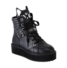 Killstar Keiko Kitty Cat High Top Platform Goth Otaku Lolita Anime Sneaker