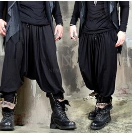 Avant Garde Drape Harem Baggy Banding Pants 252