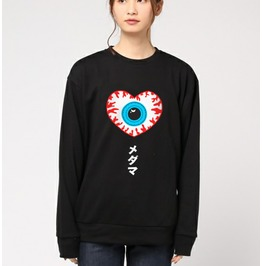 Yami Kawaii Eye Heart Grunge Harajuku Sweatshirt Original Design