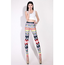 Geometric Pattern 2013 Fashion Leggings Pants
