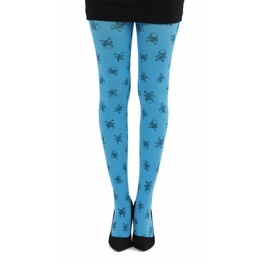 Skulls Printed Tights