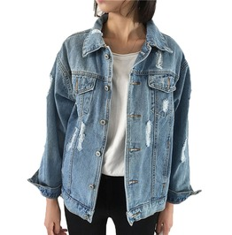 Vintage Women's Rugged Denim Jacket