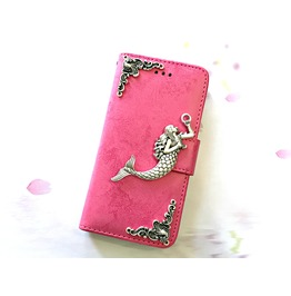 Mermaid Removable Case For Iphone X 7 8 Plus Samsung S8 S9 Plus Note 8 Mn90