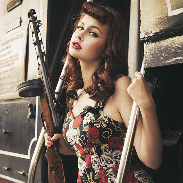 Pin-up & Rockabilly Womens Clothing