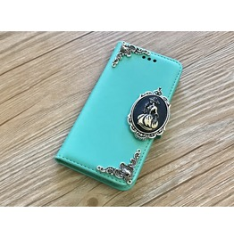 Skull Lady Removable Case For Iphone X 8 Plus Samsung S9 Plus Note 8 Mn125