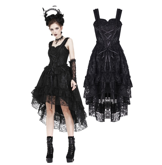 gothic cocktail dress