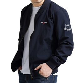Plus Size 8 Xl Stand Collar Bomber Jacket Pilot Jacket Men