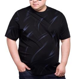 Plus Size 5 Xl 8 Xl Hombre Crewneck Short Sleeves Casual T Shirt Tees Men