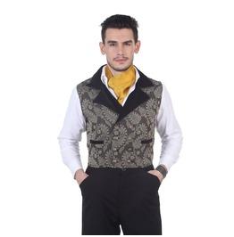 Victorian Vintage Style Brocade Hidalgo Vest