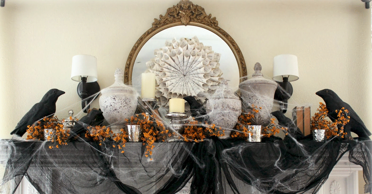 Decorate for a Halloween Party