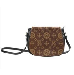Louis Cipher Vuitton Saddle Bag