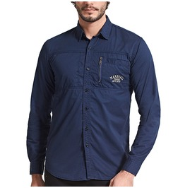 Men's Casual Slim Fitted Cotton Long Sleeve Shirt