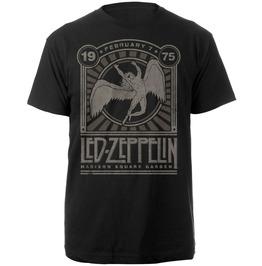 Led Zeppelin Madison Square Gardens 1975 Event T Shirt
