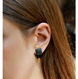 Double Sided Black Triangle Rocker Ear Jackets