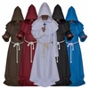 Rebelsmarket hooded robes medieval renaissance priest friar halloween costume costumes 6