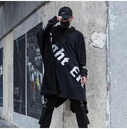 Rebelsmarket new men coat hooded gothic steampunk sweater rock cloak coats 7
