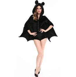 Vampire Bat Halloween Jumpsuit Costume Women