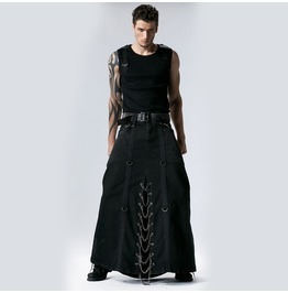 Long Heavy Metal Mens Skirt