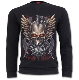 Maced Skull Heavy Pique Sweat Shirt