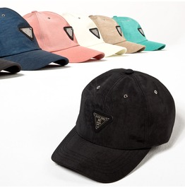 Lettering Metal Triangle Ball Cap 37