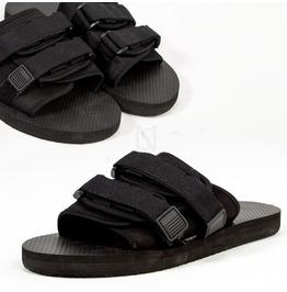 Plain Black Slipper 453