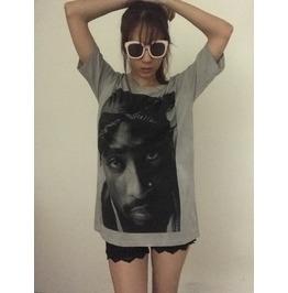 Tupac Hip Hop T Shirt L