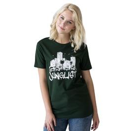 Junglist Sound System T Shirt Jungle Drum & Bass Female Dj Festival Tee Top