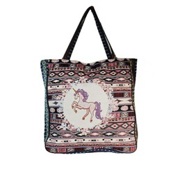 Huge Tapestry Unicorn Tote Bag