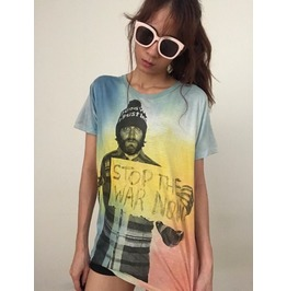 Stop The War Punk Rock Grunge Fashion Tie Dye T Shirt M
