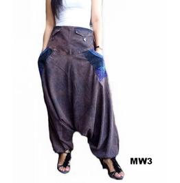 Harem Drop Crotch Pants Ooak ,Mw3