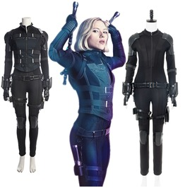 Cybergoth Women's Black Widow Cosplay Jumpsuit