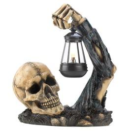 Dead Rising Graveyard Skeleton Lantern