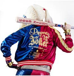 Harley Quinn Silk Bomber Jacket