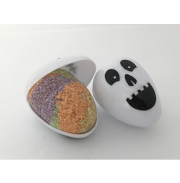 Bubble Gum Bath Bomb Skull Egg Gift Box