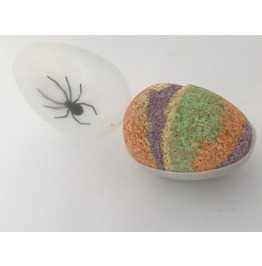 Bubble Gum Bath Bomb Spider Glow In The Dark Egg Gift Box