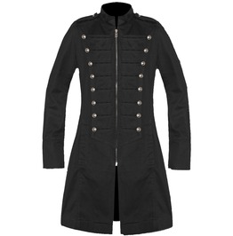 Men Gothic Coat Trench Army Style Coat Cotton Jacket For