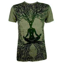 Sure T Shirt Wicca Art Guru Sz. M L Xl Psychedelic Art Magic Buddha Yoga