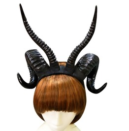 Antelope Black Gothic Headpiece