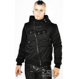Nacht Sector Gothic Industrial Cyberpunk Black Jacket